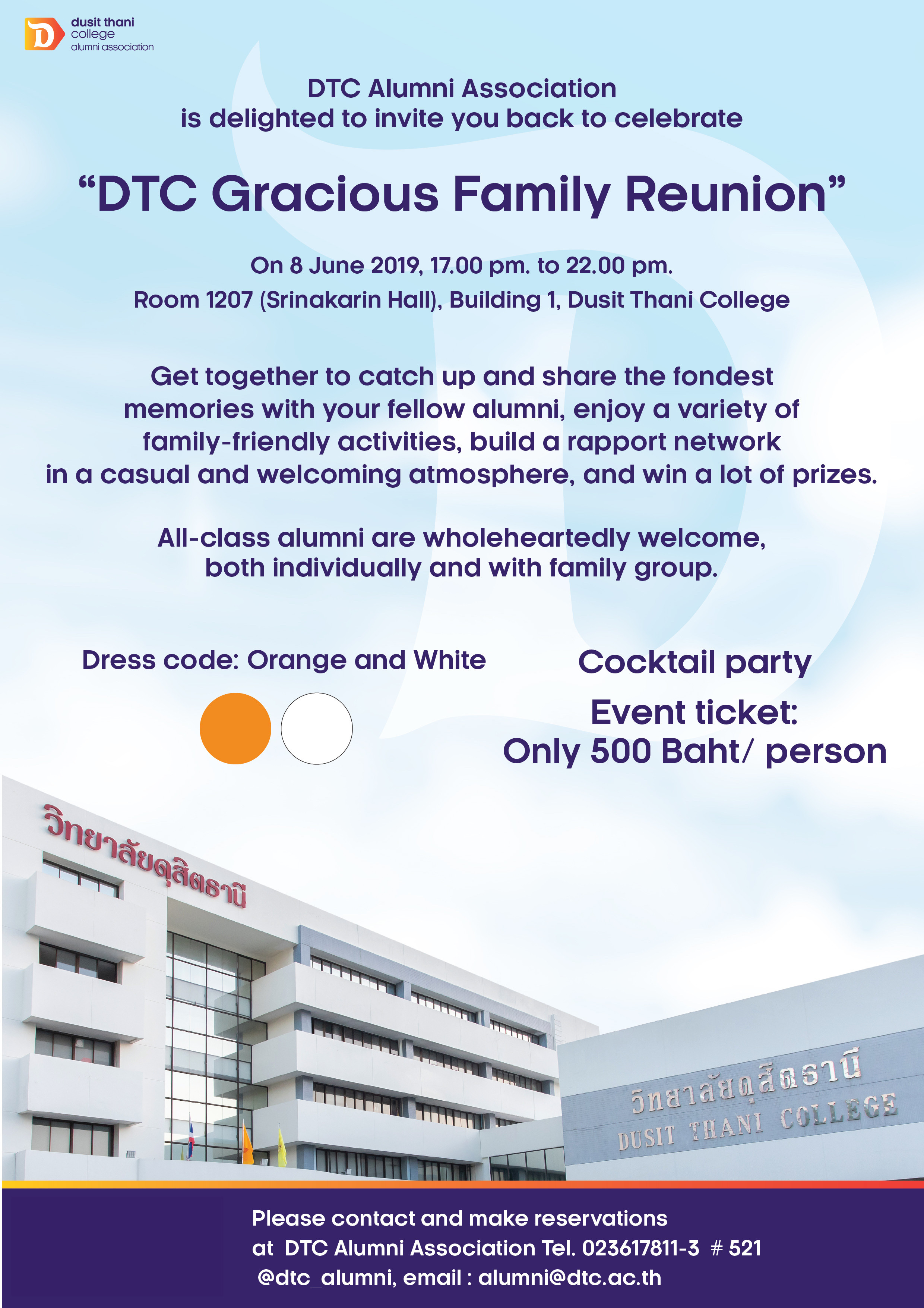 DTC Gracious Family Reunion - Dusit Thani College