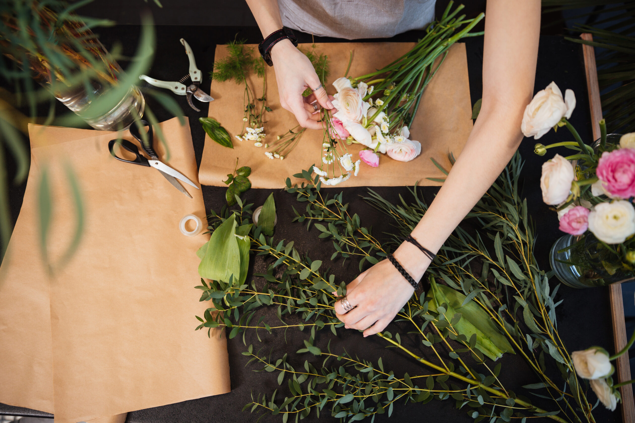 creating bouquet course